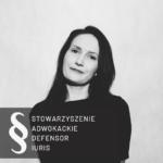 adwokat Anna Kątnik - Mania zdjęcie czarno-białe