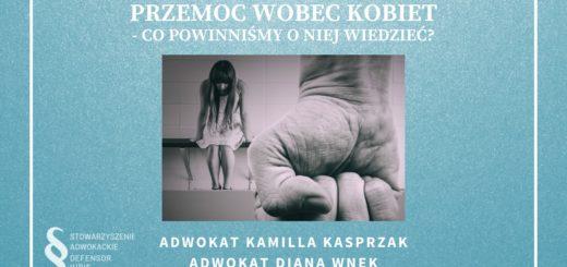 Przemoc wobec kobiet - Co powinniśmy o niej wiedzieć?
